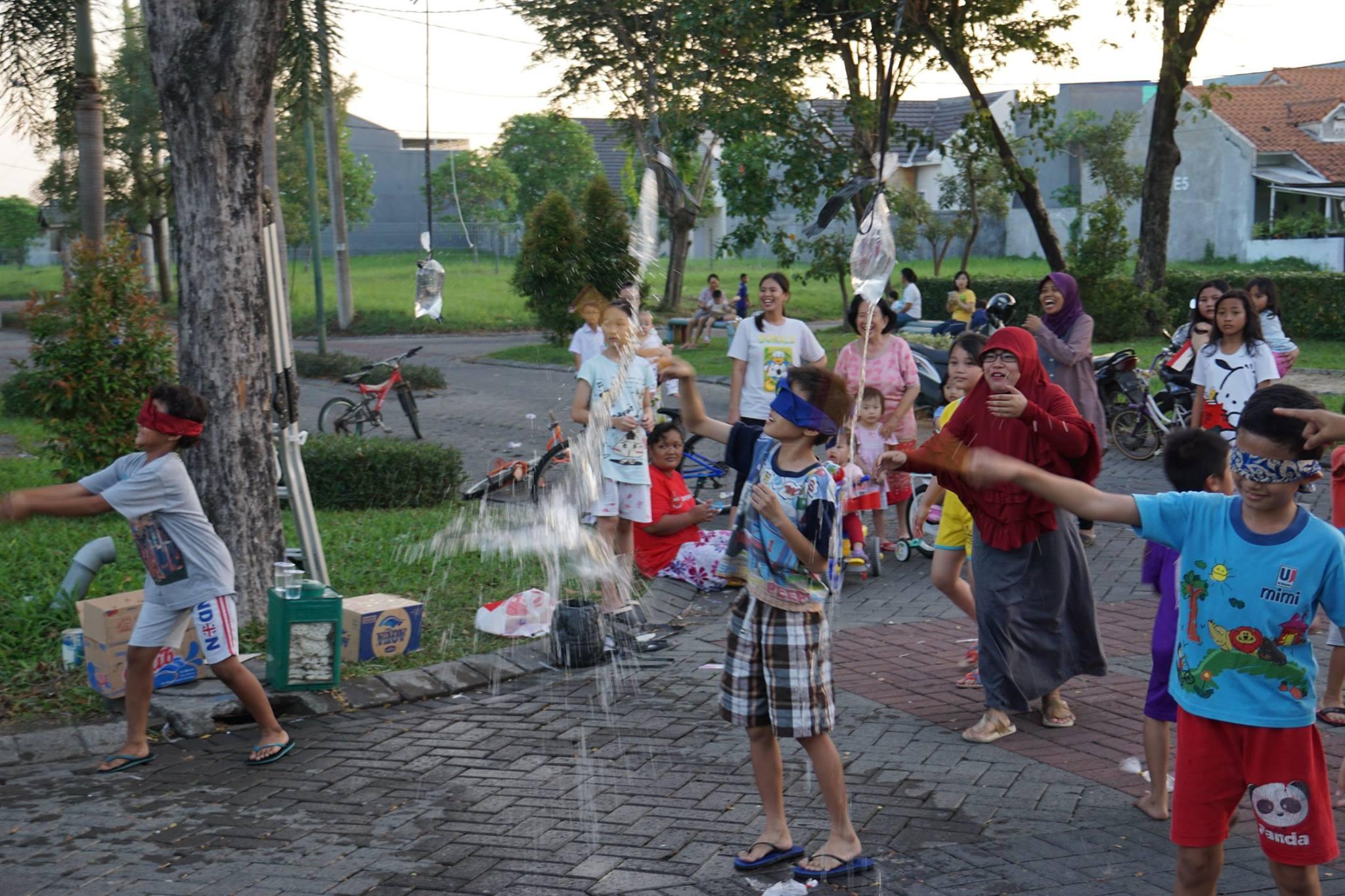 procesy urbanizace ve východní Jávě v Indonésii