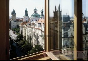 Incredible view - For Rent: 4-bedroom Luxury Apartment Prague 1 - Josefov, Parizska street