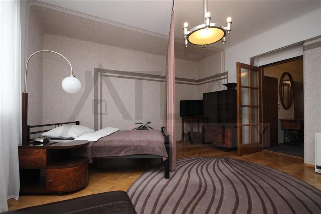 Pronájem zařízeného bytu 2+kk, 50 m2 Praha 6 - Vokovice, Kladenská ul.