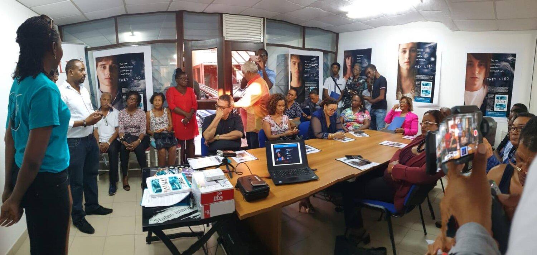Organizace pro svět bez drog (Drug-Free World) otevřela novou kancelář ve Francouzské Guyaně