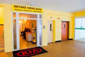 Nadace Kia Motors Slovakia úspěšně ukončila první fázi rekonstrukce Fakultní nemocnice s poliklinikou v Žilině