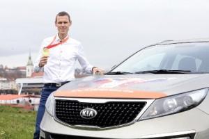 Matej Tóth jezdí v KIA