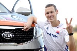 Mistr světa v chůzi ze Slovenska jezdí v Kia Sportage