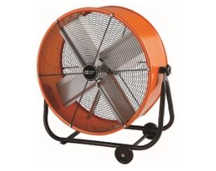oranžové ventilátory pro centrum města Clearwater