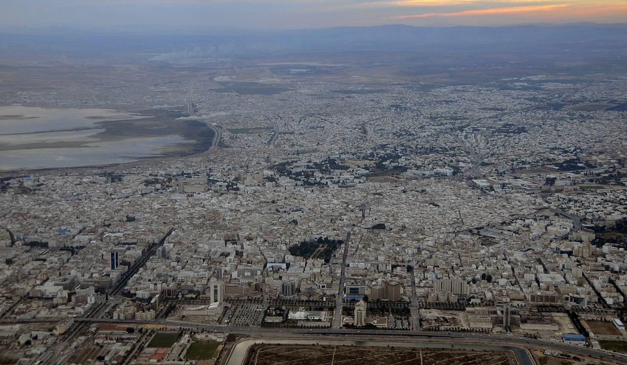 Tuniské obyvatelstvo v pařížském prostoru