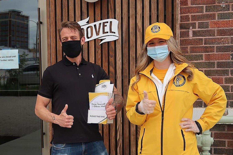 Scientologická církev v Kansas City oslovuje komunitu důležitými informacemi o tom, jak dostat pandemii pod kontrolu.
