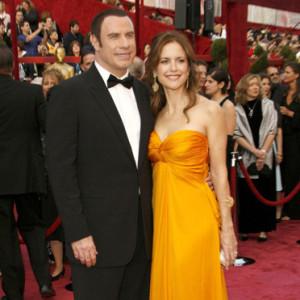 americký herec John Travolta a jeho manželka americká herečka Kelly Preston