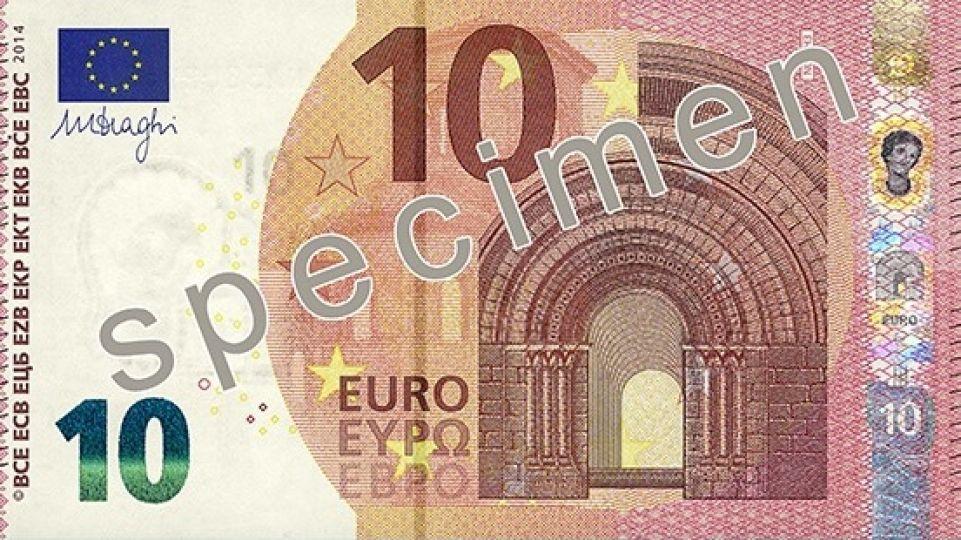 nová bankovka 10 €