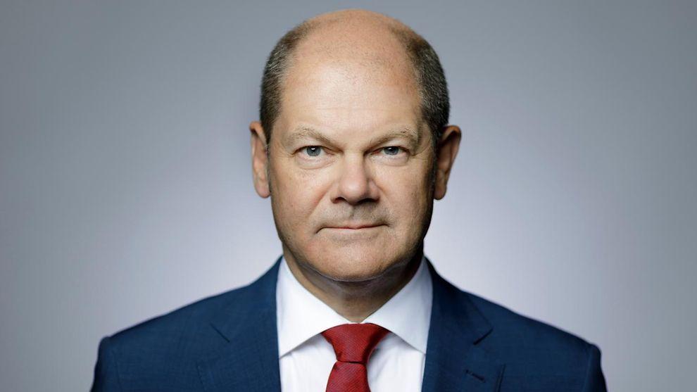 Olaf Scholz Německý federální ministr financí