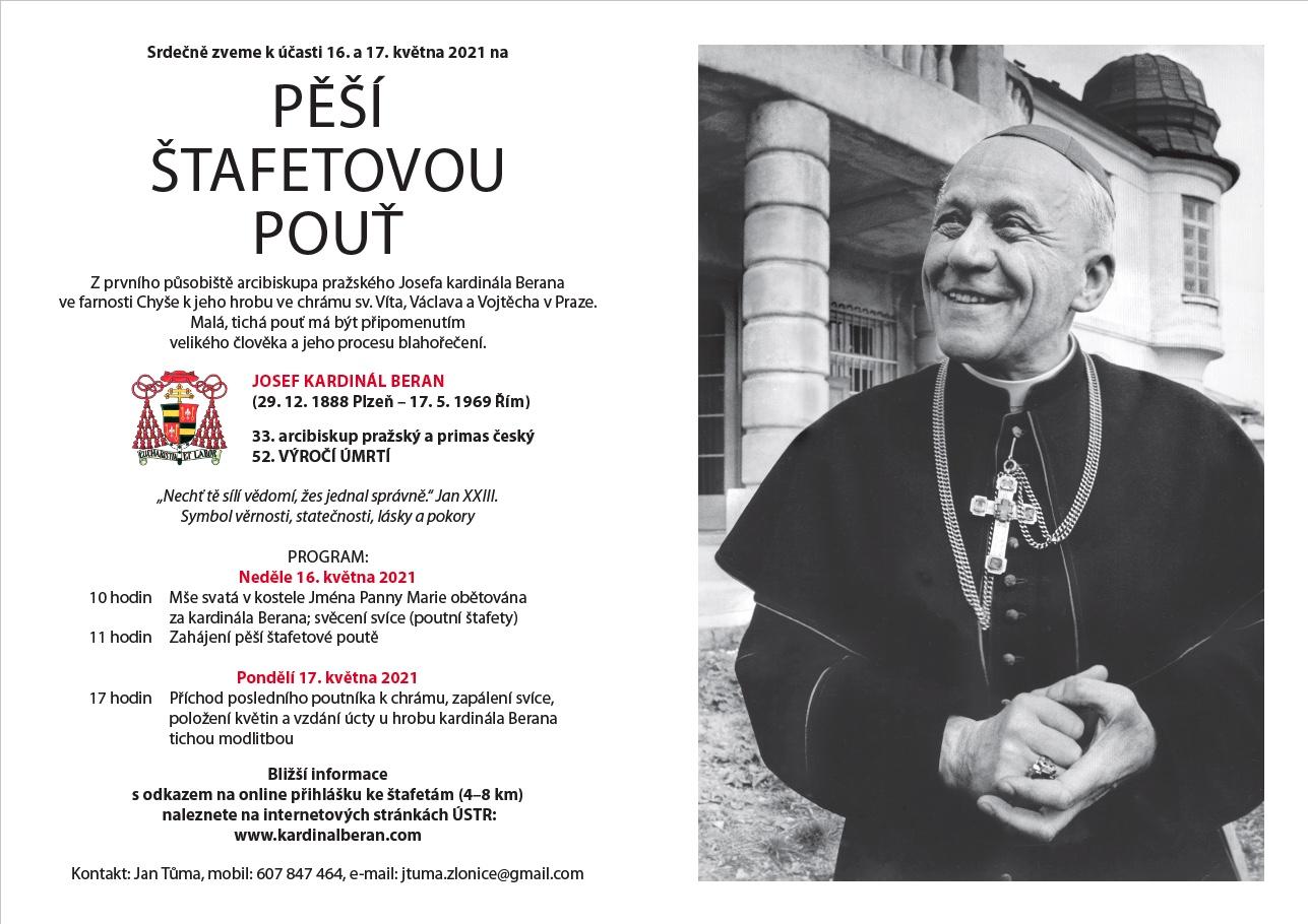 Josef kardinál Beran arcibiskup pražský a primas český