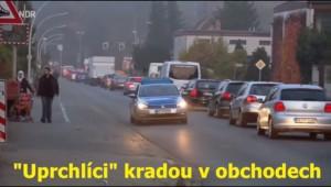 """""""Uprchlíci"""" kradou v obchodech !!! - TOHLE ČESKÁ TELEVIZE NIKDY NEUKÁŽE!!!"""